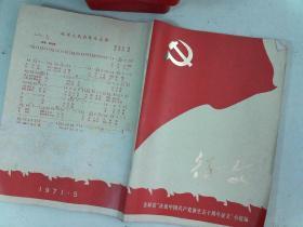 征文 吉林省'庆祝中国共产党诞生50周年征文' 1971年出版