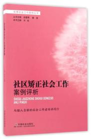 社区矫正社会工作案例评析/优秀社会工作案例丛书