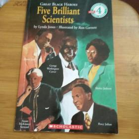 Great Black Heroes: Five Brilliant Scientists (LEVEL 4) 伟大的黑人英雄:五位卓越的科学家