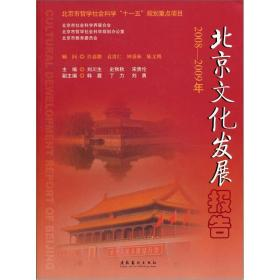 北京文化发展报告[  2008-2009]