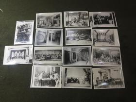 翻拍旧照片14张 内容多为晚清政治生活建筑等