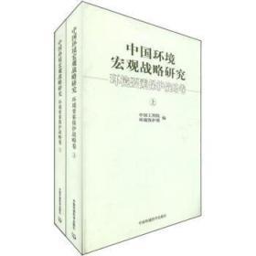 中国环境宏观战略研究[ 环境要素保护战略卷](上下册)