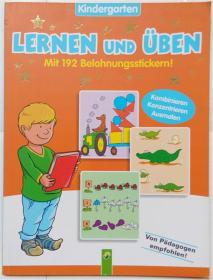 Lernen und üben(mit 192 belohnungsstickern!)平装书 游戏贴纸 德语