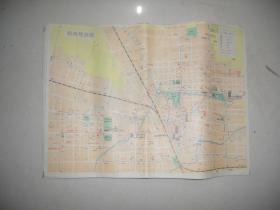 郑州导游图 1987
