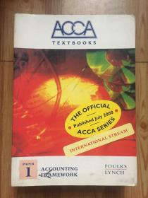 ACCA TEXTBOOKS INTERNATIONAL STREAM ACCOUNTING FRAMEWORK PAPER 1