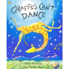 Giraffes Cant Dance [Paperback] 长颈鹿不会跳舞(平装)