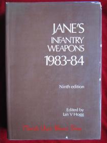 Janes Infantry Weapons 1983-84(Ninth Edition)简氏步兵武器1983-84年(第9版 英语原版 精装本)