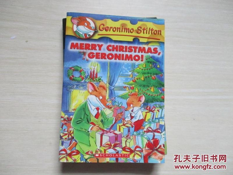 Geronimo Stilton #12: Merry Christmas Geronimo!老鼠记者#12:圣诞快乐
