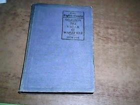 the vicar of wakefield 威克斐牧师传(清末1898年版英文原版图书  品相还不错!)