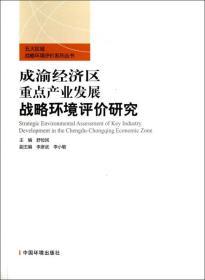 五大区域战略环境评价系列丛书:成渝经济区重点产业发展战略环境评价研究