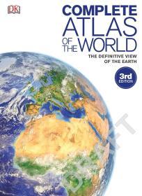 英文原版 Complete Atlas of the World, 3rd Edition: The Definitive View of the Earth 世界地图全集 精确地球景观 DK