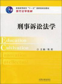 保证正版 刑事诉讼法学——现代法学教材 姚莉 中国法制出版社