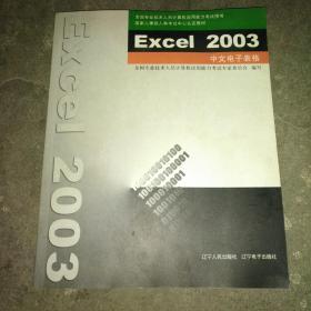 Excel 2003中文电子表格