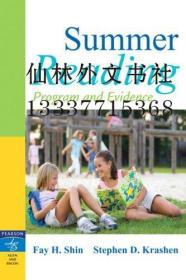 【包邮】Summer Reading: Program and Evidence