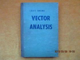 VECTOR ANALYSIS 矢量解析(精装英文原版书)