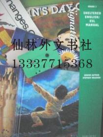 【包邮】Sheltered English/ ESL Manual (Grade 3)