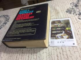 英文原版 Funk  & Wagnalls   Canadian college Dictionary  【存于溪木素年书店】