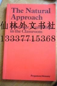 【包邮】Natural Approach (Language Teaching Methodology Series)