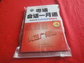 粤语会话一月通(CD版 2张CD配一本书)