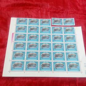 中华人民共和国印花税票100元,1989年30张