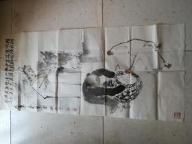 国家一级美术师、中国美术家协会员【孙忠会人物画】一幅(包老包真)