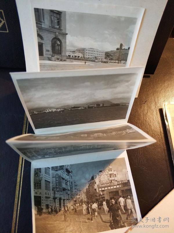 民國香港影樓老照片一組共六張