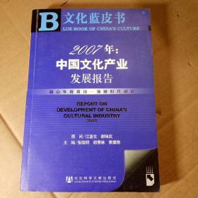 文化蓝皮书《2010年中国文化产业发展报告》.