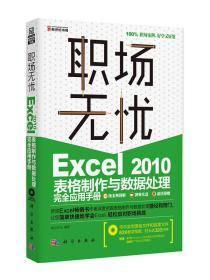 职场无忧:Excel 2010表格制作与数据处理完全应用手册