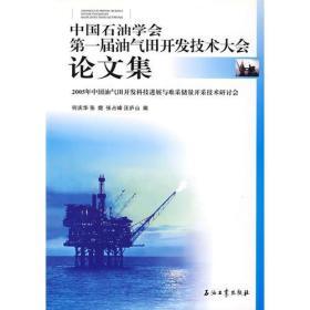 中国石油学会:第一届气田开发技术大全论文集/2005年中国油气田开发科技进展与难采储量开发技术研讨会