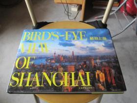 航拍上海(2005年一版一印,8开布面精装208面图文画册)