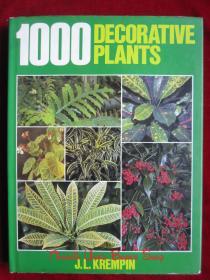 1000 Decorative Plants(英语原版 精装本)1000种装饰植物