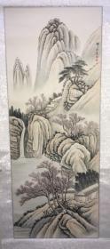 庞舒方 山水画50*130cm P204-201