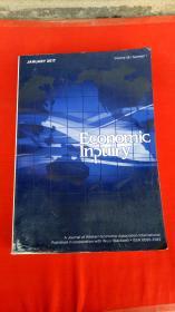 Econonmic inpuiry Volume 55 number 1 january  2017【书边有些泥渍】