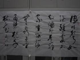 庞水印 行草 137*70 横幅 p505-105