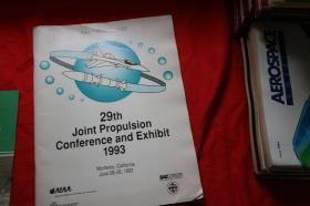 29th joint propulsion conference and exhibit1993