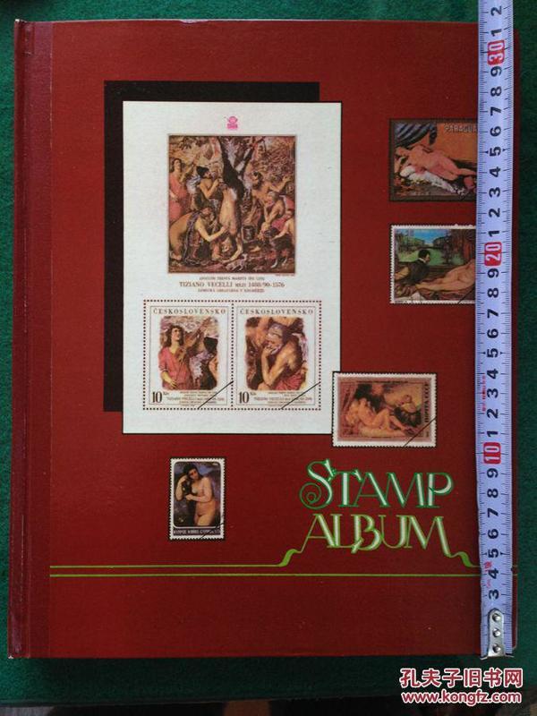 大集邮册  新册315x250 18页   每页之间有隔纸   平板不起翘  飞鹰牌