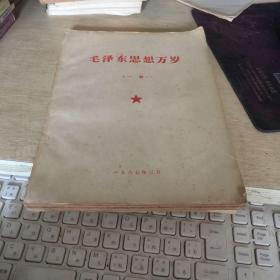 毛泽东思想万岁一册