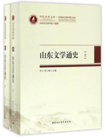 当代齐鲁文库·山东社会科学院文库:山东文学通史(套装上下卷)