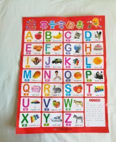阳光宝贝大挂图·英文字母表、英语国际音标