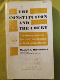 The Constitution and the Court : The Development of the Basic Law Through Judicial Interpretation