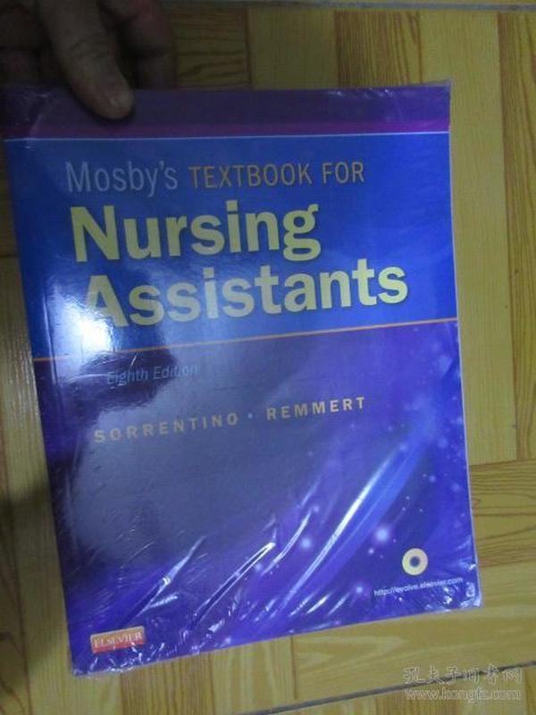 Mosby's Textbook for Nursing Assistants    (外文原版)   大16开,全新未开封