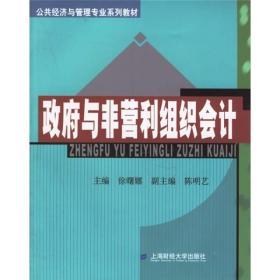 公共经济与管理专业系列教材:政府与非营利组织会计