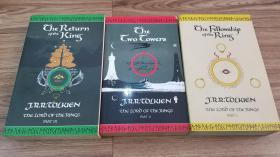 the lord of rings魔戒 指环王 三部曲 三本打包 the return of the king/the two towers/the fellowship of the ring