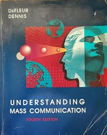 英文原版《懂得大众沟通》 Understanding Mass Communication: Resource Manual, 4th Edition