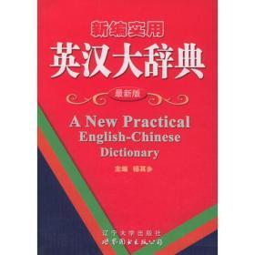 新编实用英汉大辞典(最新版)