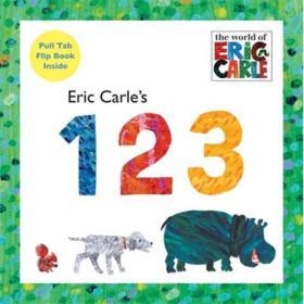 Eric Carles 123   Board book    艾瑞·卡尔教你识数字