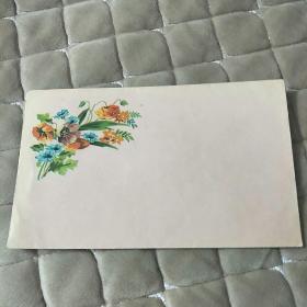 花卉图案老信封