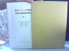 椎田 关系埋藏文化财调查报告
