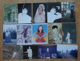 美女靓丽美丽可人彩色照片14张高12.5厘米宽8.5厘米