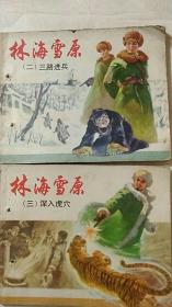《林海雪原(二)三路进兵》、《林海雪原(三)深入虎穴》 馆藏 有打孔